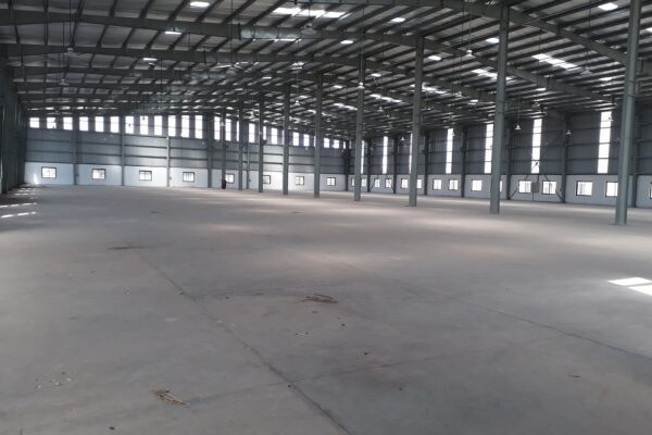 Industrial shed in Sachin