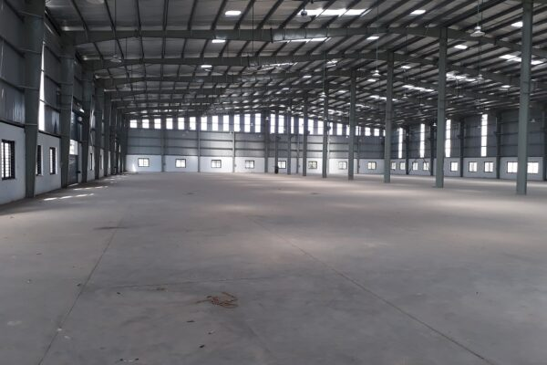 Industrial shed in Sarigam