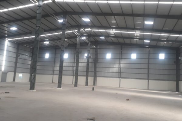 Industrial shed in Ankleshwar